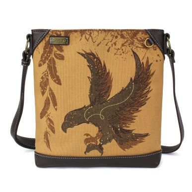 Safari Eagle Canvas Crossbody