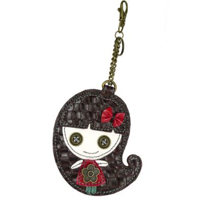 Smiley Girl - Key Fob/Coin Purse