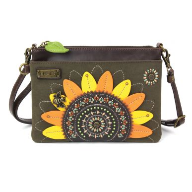 Dazzled Mini Crossbody - Sunflower - Olive