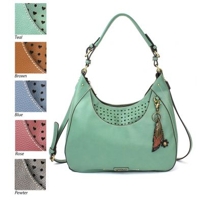 Metal Feather - Sweet Tote/Hobo