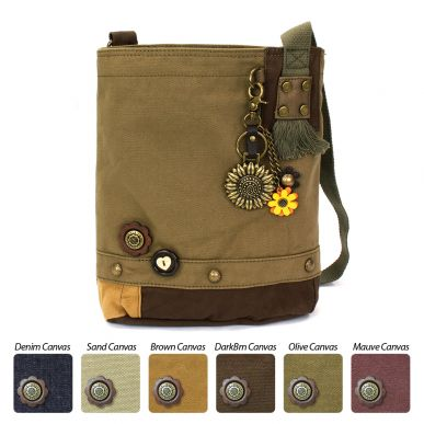 Patch Crossbody - Metal Sunflower