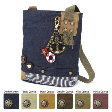 Patch Crossbody - Metal Anchor