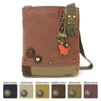 Metal Fox - Patch Crossbody Bag