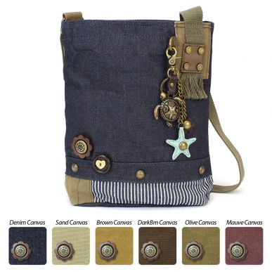 Metal Turtle - Patch Crossbody Bag