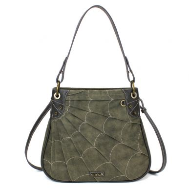 Olive - Sweb Shoulder Bag
