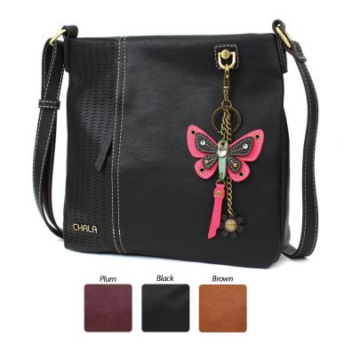 Pink Mini Butterfly - Laser Cut Crossbody