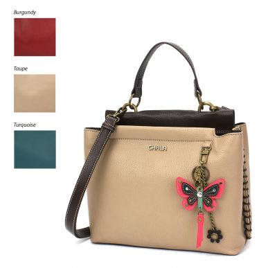 Charming Satchel - Mini Pink Butterfly